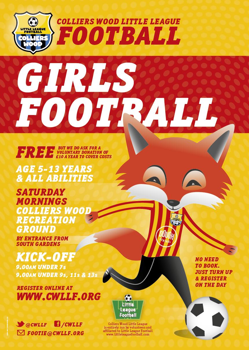 Girls football coaching